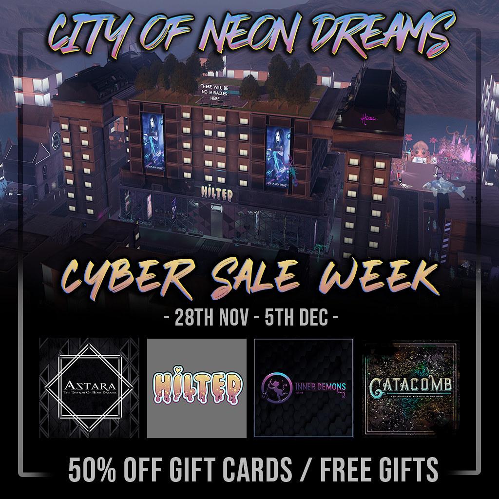 Cyber Sale Week - City of Neon Dreams