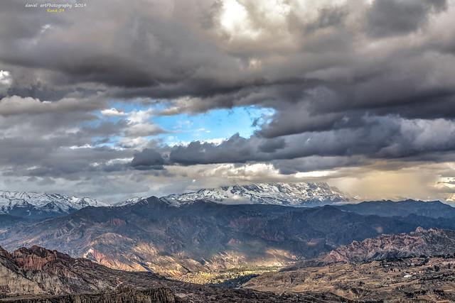 Cielo de los Andes