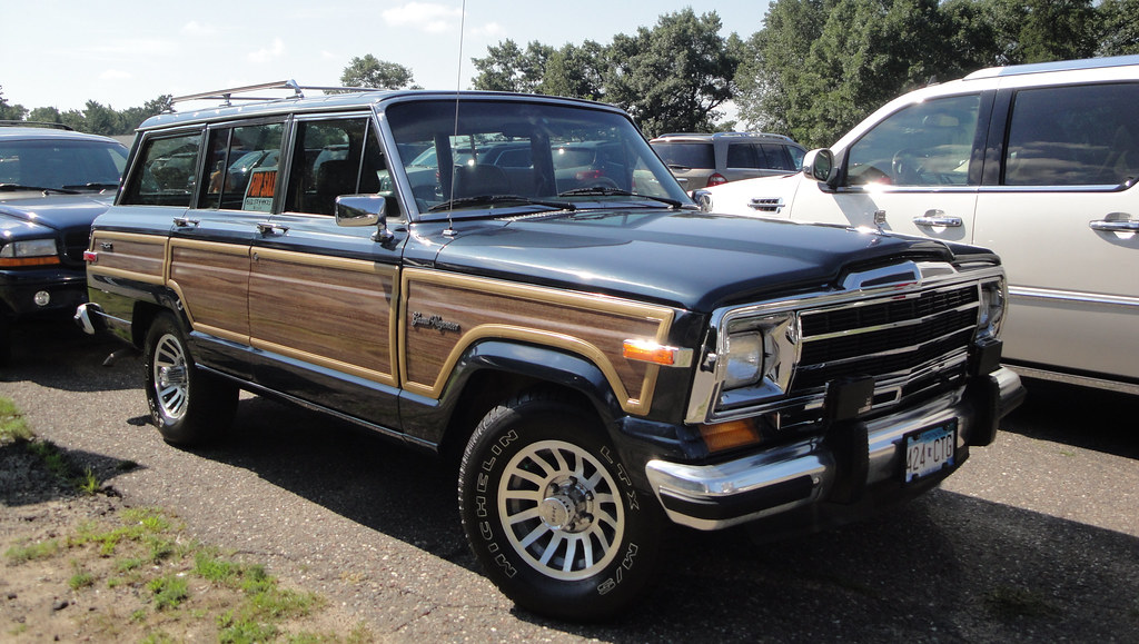 1988 jeep grand wagoneer 25th annual antique classic woo flickr flickr