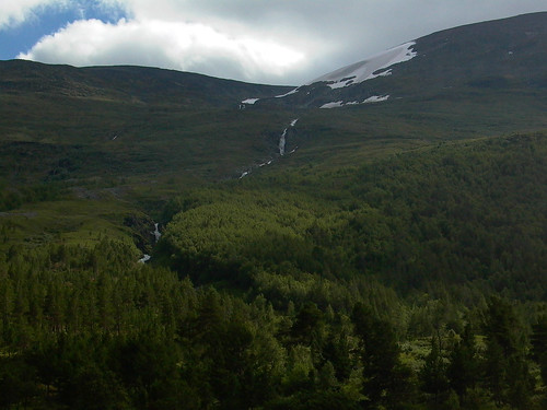 norway storgrovestream alpine mountain waterfall