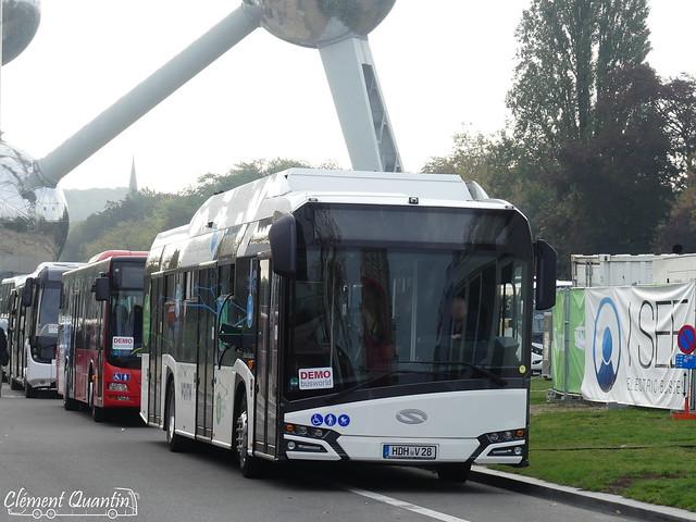 BUSWORLD 2019 / SOLARIS - Urbino 12 Electric (Essai)