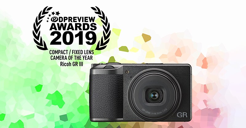 "RICOH GR III choseas the ""Best compact/fixed lens camera"" on DPR"