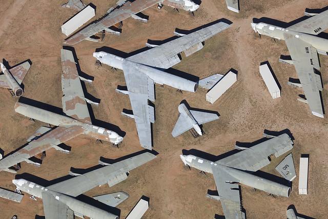 Boeing B-52 Stratofortress, Davis Monthan - Arizona