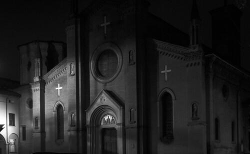 St. Martin church by night