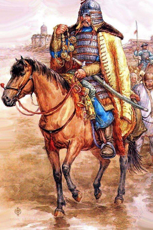 Ордынский воин