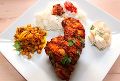 HANS' DELICIOUS TANDOORI CHICKEN