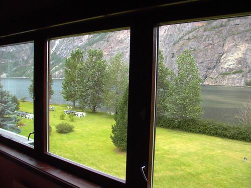 lærdal norway scenic view windows sognogfjordane