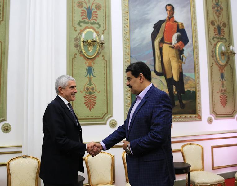 Presidente Maduro fortalece lazos de fraternidad con la República Italia