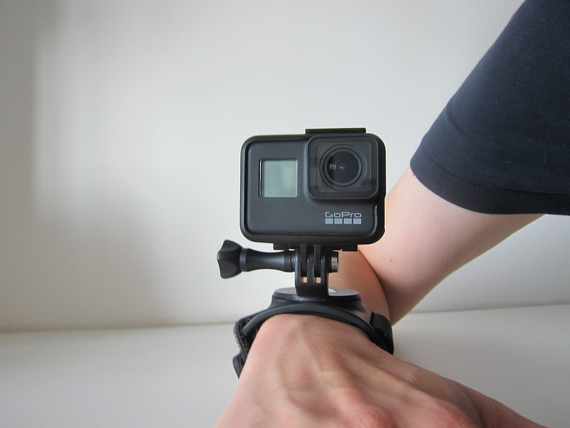 GoPro Wrist Strap - With GoPro HERO7 Black