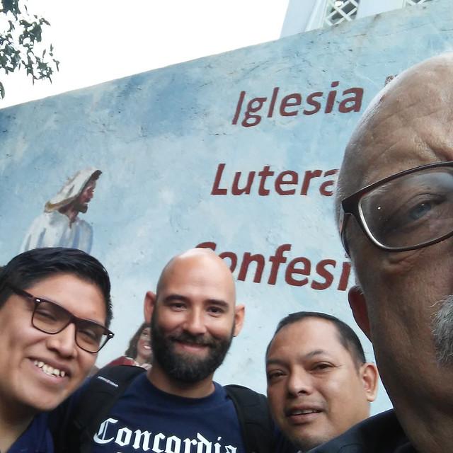 With Jeancarlos Ramirez, Hector Paneque and Carlos Ventura.