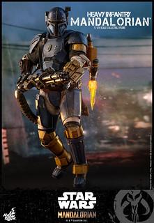 超大把重型雷射步槍帥爆!! Hot Toys – TMS010 -《曼達洛人》重裝步兵曼達洛人 Heavy Infantry Mandalorian 1/6 比例人偶
