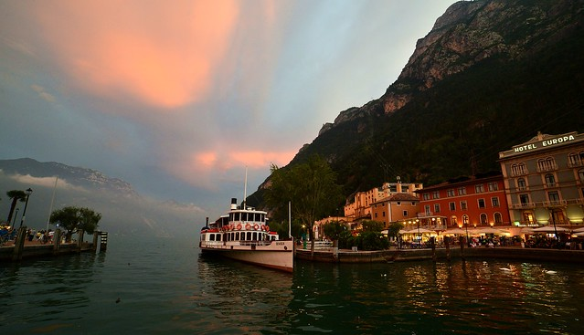 Riva del Garda - After Sunset