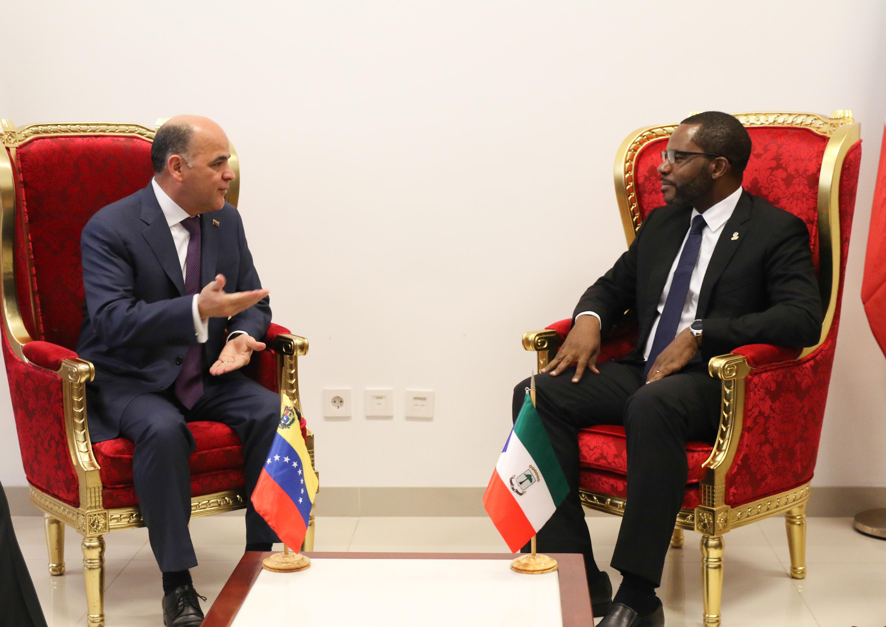 Venezuela y Guinea Ecuatorial fortalecen alianzas en hidrocarburos