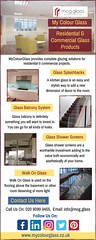 Glass Balcony Systems For Stairs & Balconies | MyColourGlass