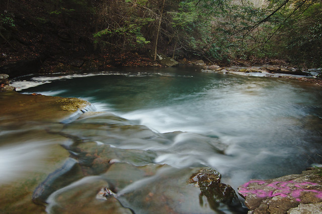Large Cascades 7, Unnamed Swimming Hole, Fentress County, Tennessee