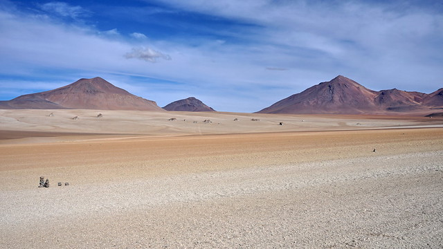 In the Salvador Dali desert