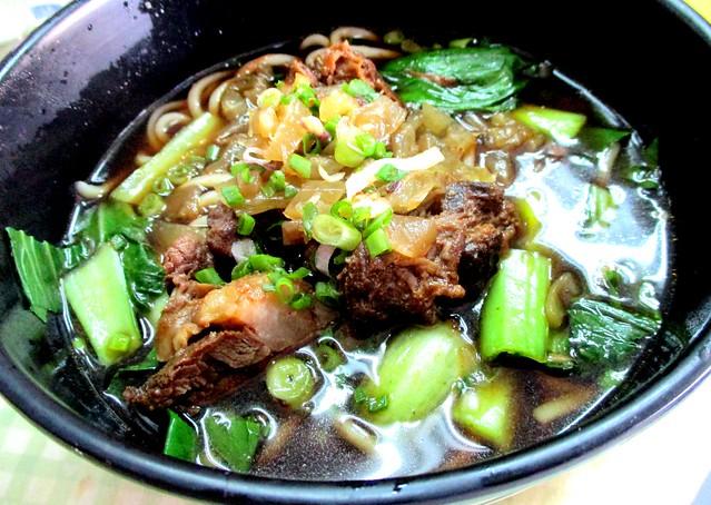 Beef vegetable noodles