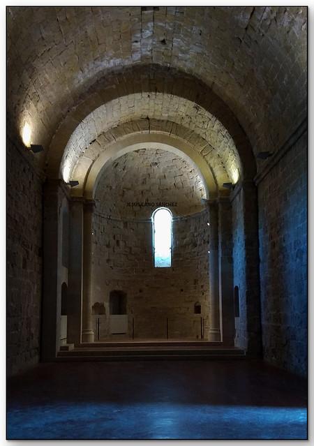 L'església, Castell de Miravet (la Ribera d'Ebre)