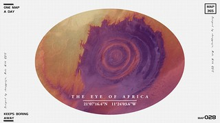 """The """"eye of Africa"""""""