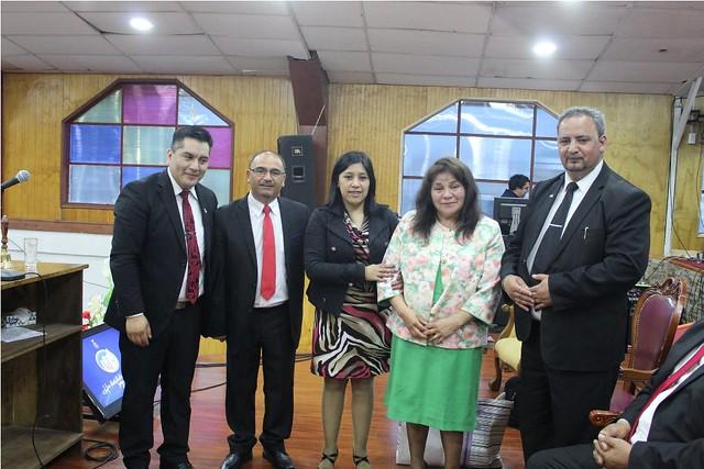 Santa Cena en Iglesia Metodista Pentecostal de Puerto Aysén Sector 24