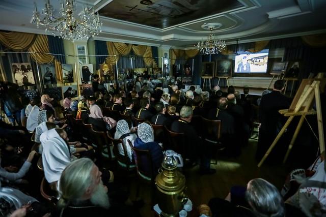 28 ноября 2019, Состоялось открытие выставки, презентация книг и фильма, посвященных 10-летию архиерейской хиротонии митрополита Кирилла