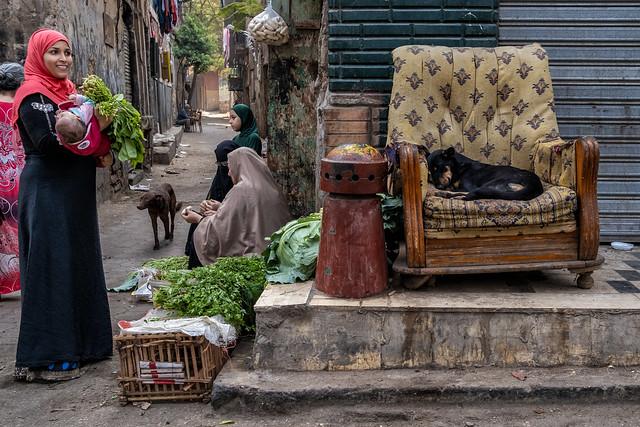 Near Ibn Tulun mosque, Cairo