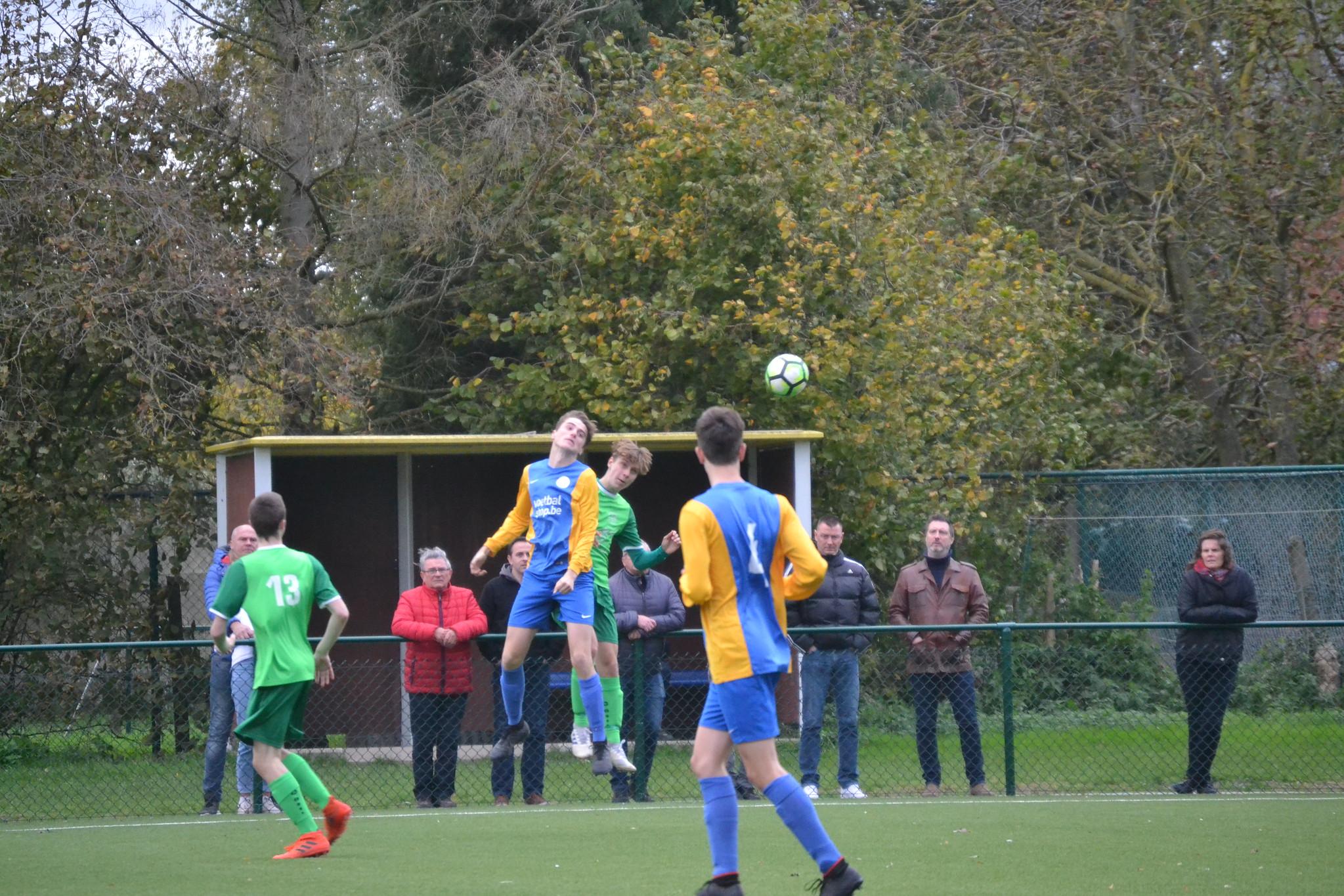 U17A - 2/11/2019 - Sporting Kampenhout - K.V.K. Ninove