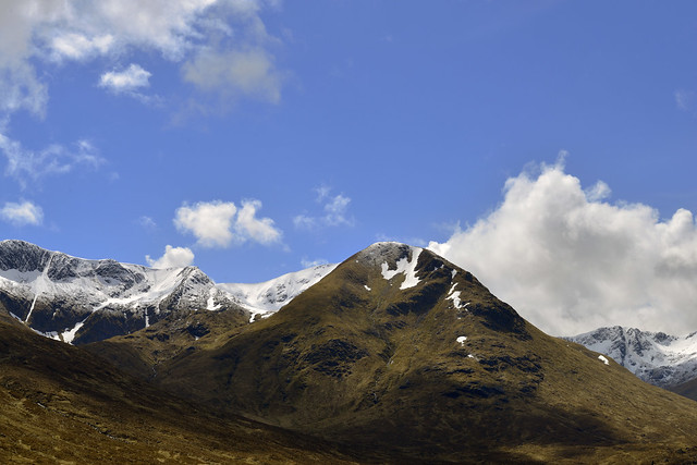 Valley of Glen Shiel,Northwest highlands of Scotland  -  (Selected by GETTY IMAGES)