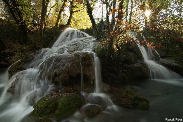 Cascade tufière du Dérochoir - Mesnay - Jura