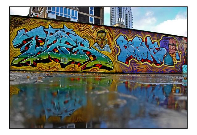 LONDON STRET ART by TIZER & BRONK