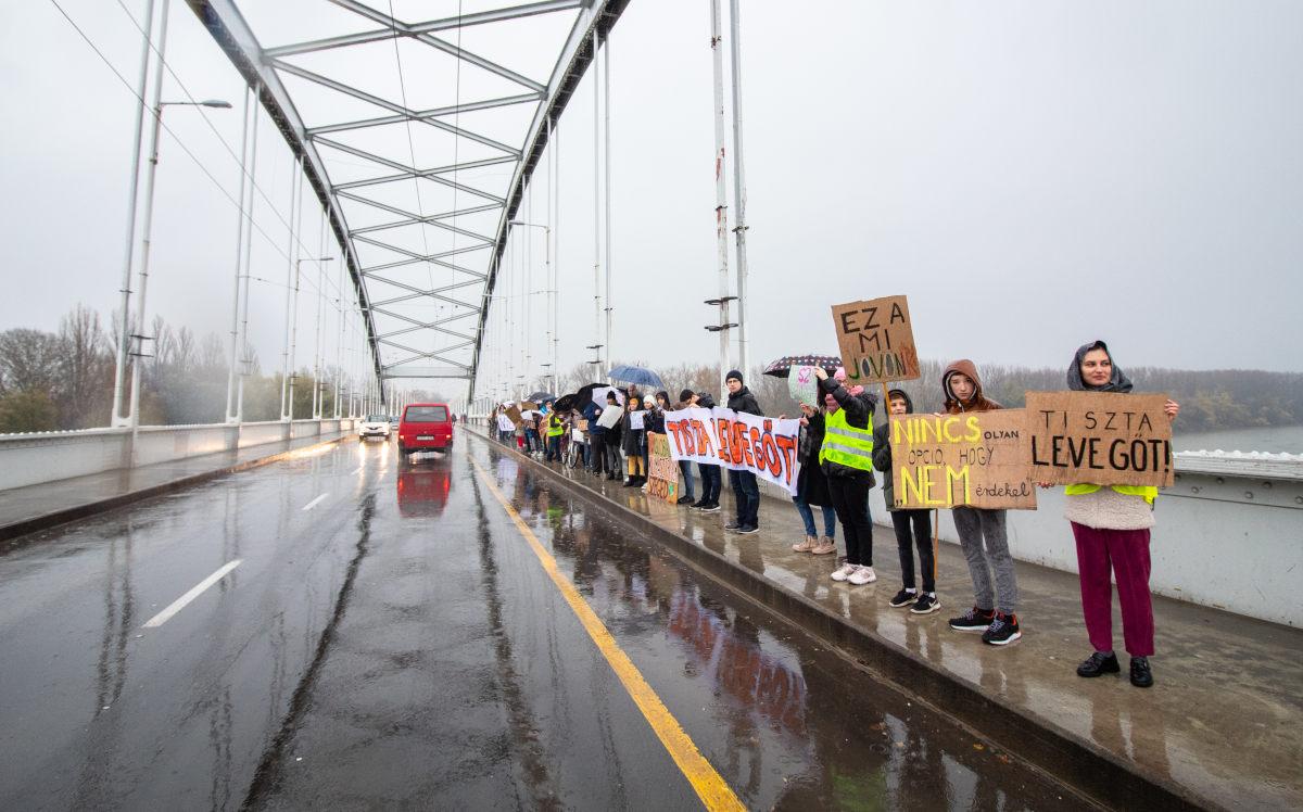 Az eső ellenére is lefolyt a IV. Globális Klímasztrájk