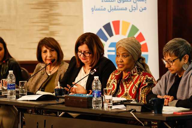 Civil Society Organizations and Youth Meeting with UN Women Executive Director in Amman
