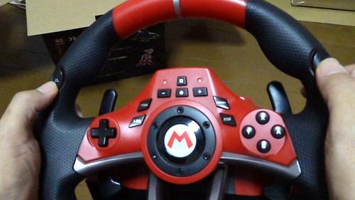 【任天堂ライセンス商品】マリオカートレーシングホイールDX for Nintendo Switch【Nintendo Switch対応】 | HORI NSW-228