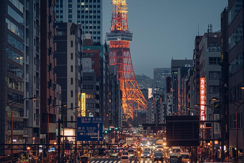 東京鐵塔夜色|Tokyo tower