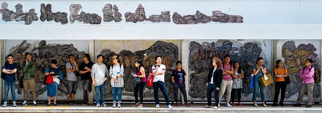 Involuntary Art Installation (Hong Kong, China. Gustavo Thomas © 2019)