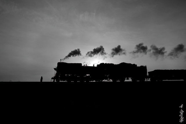 JS series steam locomotive...