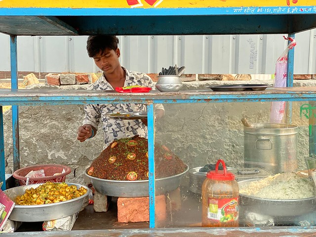 City Food - Chhole Cart, Outside Ambience Mall, Gurgaon