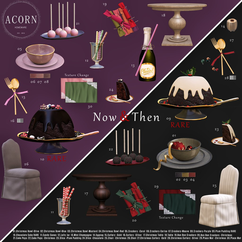 ACORN Now & Then Set