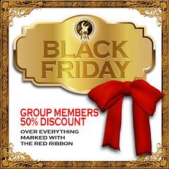 F&M * Black Friday 50% Discount