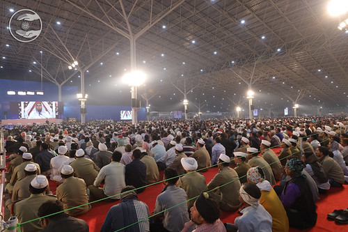 A view of congregation during discourse