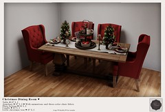 {YD} Christmas Dining Room