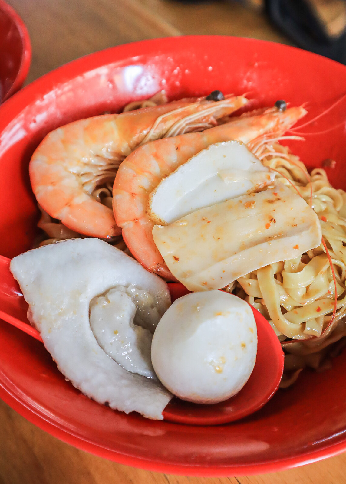 special fishball noodles liao