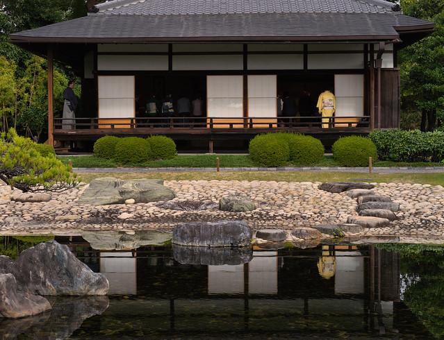 Tea house reflections
