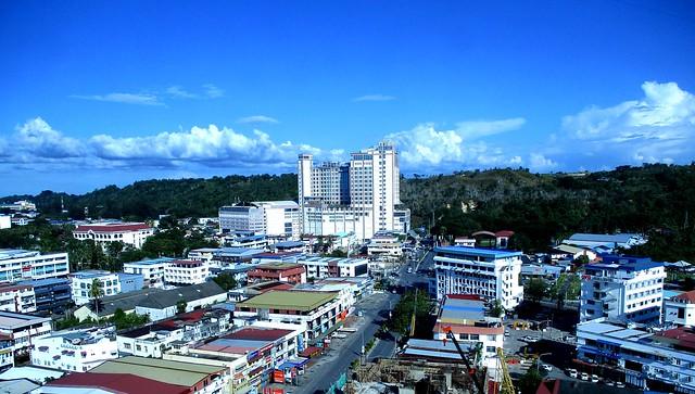 Mega Hotel Miri - city view
