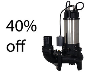 Sales 40% off Submersible Sewerage Pump