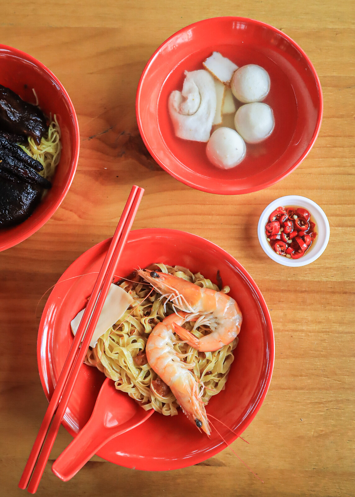 special fishball noodles top down 2
