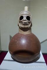 Moche whistle pot