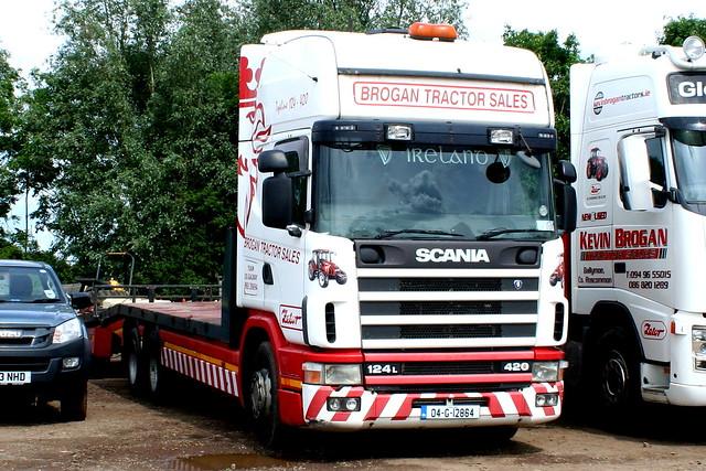 SCANIA 124L 420 04-G-12864 (IRL) BROGAN TRACTOR SALES