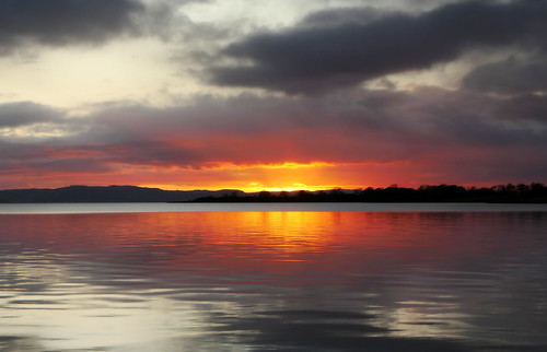 ericrobbniven scotland dundee rivertay landscape sunset