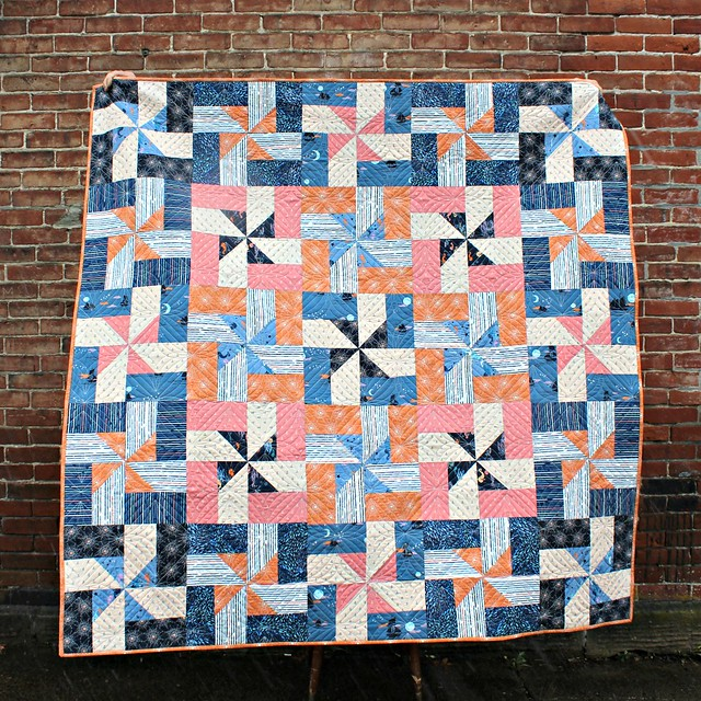 Beacon Quilt Pattern in Enchanted Voyage